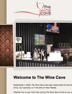 Wine Cave Website